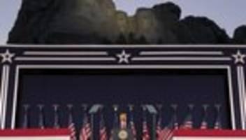 Feier zum Unabhängigkeitstag: Donald Trump beschwört Überlegenheit der USA