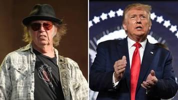 Songwriter vs. US-Präsident: Ich bin damit NICHT einverstanden: Neil Young erzürnt über Donald Trump