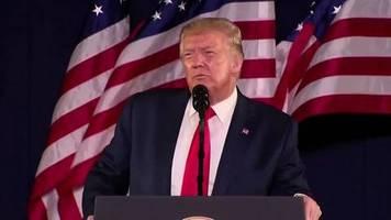 Rede am Nationalfeiertag: Trump attackiert Denkmalstürmer und Anti-Rassismus-Demonstranten