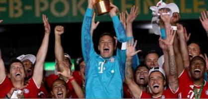 FC Bayern gewinnt das Pokalfinale gegen Leverkusen