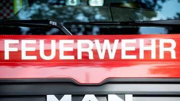 Fenster in Brand gesteckt: Bewohner im Krankenhaus