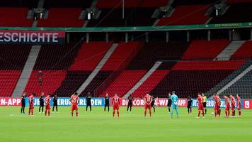 Gedenkminute für Corona-Opfer vor Pokalfinale in Berlin