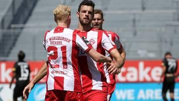 3. Liga: Würzburg steigt in die zweite Liga auf – Chemnitz muss runter