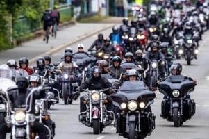 trotz verbots: tausende motorradfahrer kommen nach münchen