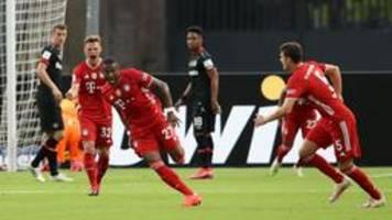 Leverkusen zu nachlässig: Bayern gewinnt den DFB-Pokal