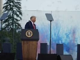 Unabhängigkeitstag ohne Corona: Trump ist jenseits aller Selbstzweifel