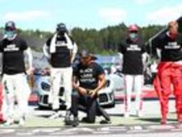 Formel-1-Piloten bei Anti-Rassismus-Protest uneins