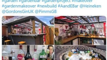 Lockdown: Trend Gartenbar – die Briten lassen sich das Trinken auch von Corona nicht vermiesen