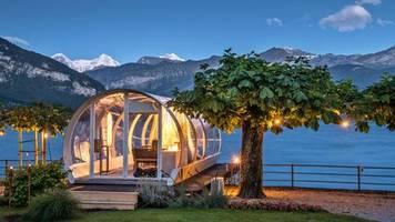 Million Stars Hotels: Schlafen unterm Sternenzelt - das sind die verrücktesten Unterkünfte in der Schweiz