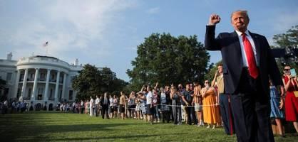trump nutzt unabhängigkeitstag für rede zur spaltung der nation
