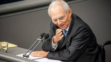 Europapolitik: Schäuble für Ausbau der Währungsunion zur Wirtschaftsunion