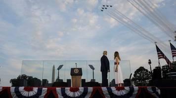 US-Unabhängigkeitstag: Trumps Flucht in die heile Welt