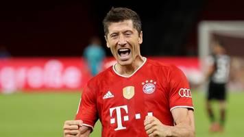 Bayerns Top-Stürmer: Rekord für Finalexperten und Torgarant Lewandowski