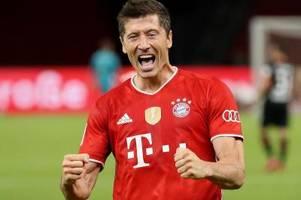 Rekord für Finalexperten und Torgarant Lewandowski