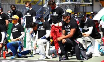 Kniefall: Uneinigkeit unter allen Formel-1-Fahrern