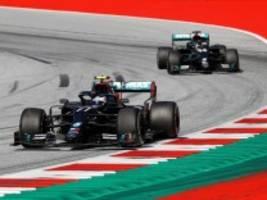 Formel 1: Bottas gewinnt in Spielberg, Hamilton kassiert Zeitstrafe