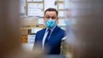 Coronavirus: Jens Spahn warnt vor Abschaffung der Maskenpflicht