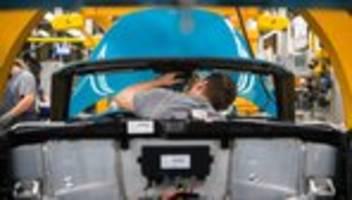 Corona-Krise: Industrie in Deutschland erhält wieder mehr Aufträge