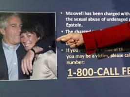 An Missbrauch beteiligt?: Epstein-Vertraute soll vor Gericht aussagen