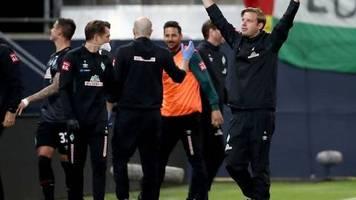 Relegation: Werder Bremen mit Remis in Heidenheim zum Klassenverbleib