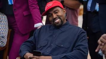 us-rapper: amerikas versprechen: kanye west will us-präsident werden