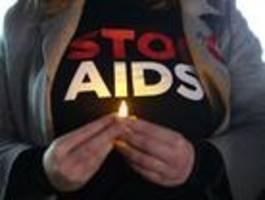 flatten the curve - bei  hiv nicht gelungen