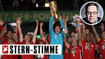 P. Köster: Kabinenpredigt: FC Bayern: Meister? Ja! Pokalsieger? Ja! Champions League? Nein!