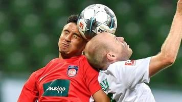 Relegation: Heidenheim gegen Werder: Duell um letzten Bundesliga-Platz