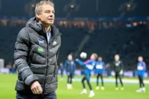 Bundesliga: Hertha: Klinsmann entschuldigt sich, aber ein Rätsel bleibt