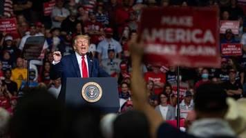 US-Wahlkampf: Trotz Corona: Trump kündigt weitere Großveranstaltung an
