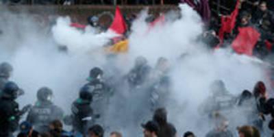 G20-Prozess gegen Polizisten: Polizeigewalt gegen Polizeigewalt
