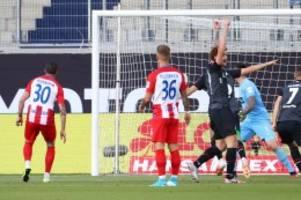 Relegation: Werder gegen Heidenheim: Bremen führt nach drei Minuten