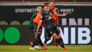 Bundesliga-Relegation: Werder Bremen bleibt erstklassig – Krimi in Heidenheim