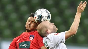 Relegation - Heidenheim gegen Werder: Duell um letzten Bundesliga-Platz
