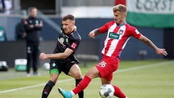 Werder sichert sich Bundesliga-Verbleib: 2:2 in Heidenheim