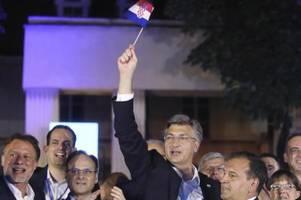 Konservative mit deutlicher Mehrheit bei Parlamentswahl in Kroatien