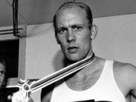 leichtathletik: zehnkampf-olympiasieger holdorf ist tot