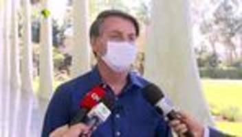 Brasilien: Jair Bolsonaro positiv auf Covid-19 getestet