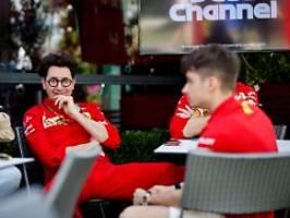 Teamchef Binotto in der Kritik: Das Gesicht der Ferrari-Krise