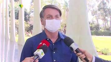 Video: Jair Bolsonaro positiv auf Covid-19 getestet