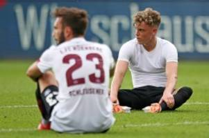 relegation: nürnbergs kampf gegen den abstieg: neues vom abgrund