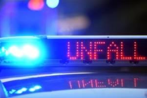 Unfälle: Motorradunfall auf der Autobahn 115: Fahrer verletzt