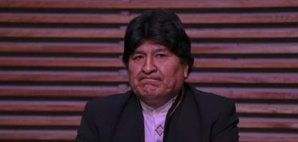 boliviens geflohenem ex-präsidenten droht ein prozess in seiner heimat