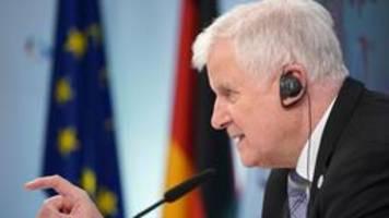 Seehofer zu EU-Asylreform: Begründet zuversichtlich