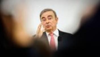 Renault: Ghosn soll mutmaßlichen Fluchthelfern 900.000 Dollar gezahlt haben