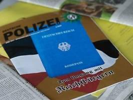 200 ermittler beteiligt: waffenrazzia in der reichsbürgerszene