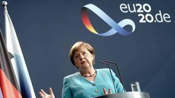 Die Morgenlage: Merkel reist nach Corona-Pause wieder ins Ausland - und präsentiert Programm für EU-Ratspräsidentschaft