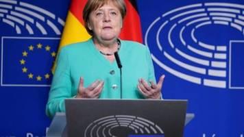 Merkel will Corona-Aufbaufonds für Schritt in die Zukunft nutzen