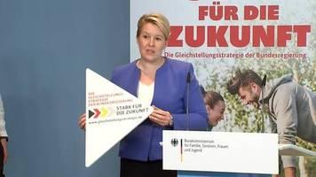 Video: Giffey setzt auf Einigung mit Union bei Frauenquote für Unternehmen