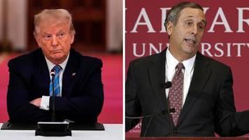 Harvard und MIT: Weil ausländischen Studierenden die Ausweisung droht: Elite-Unis klagen gegen Trump